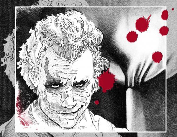 Heath Ledger par graphixrob
